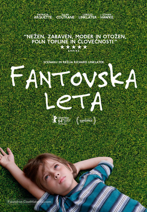 Boyhood - Slovenian Movie Poster
