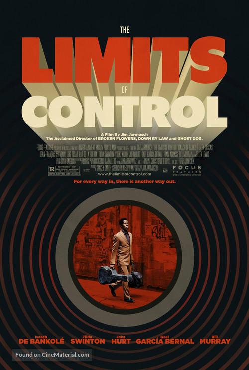 The Limits of Control - Theatrical movie poster