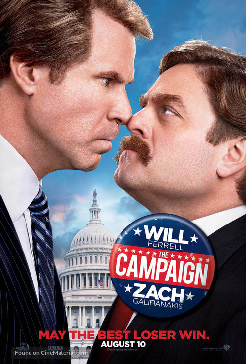 The Campaign - Movie Poster