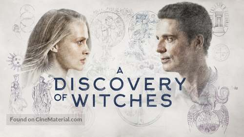 """""""A Discovery of Witches"""" - British poster"""