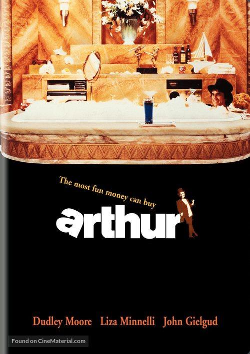 Arthur - DVD movie cover
