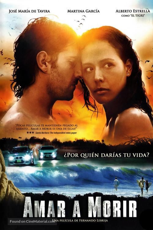 Amar a morir - Mexican DVD movie cover