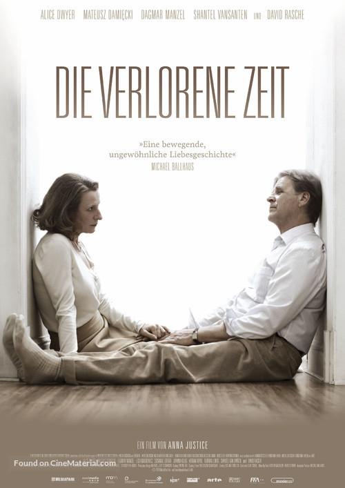 Die verlorene Zeit - German Movie Poster