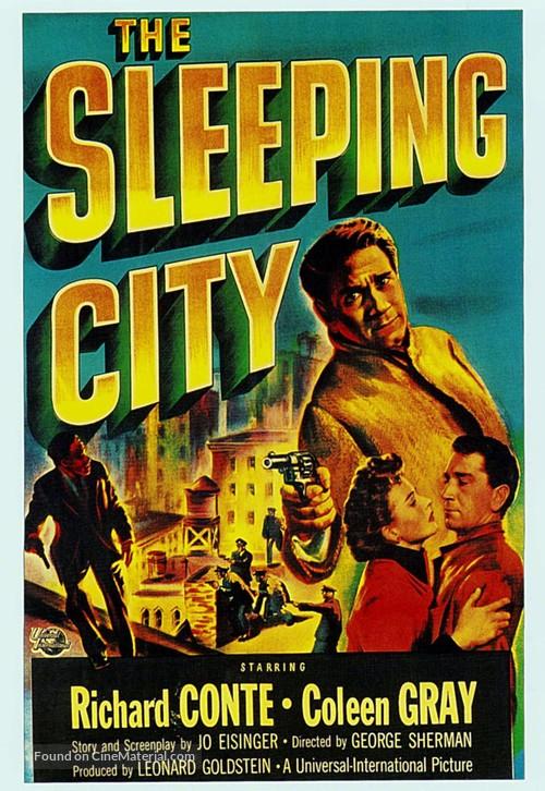 The Sleeping City - Movie Poster