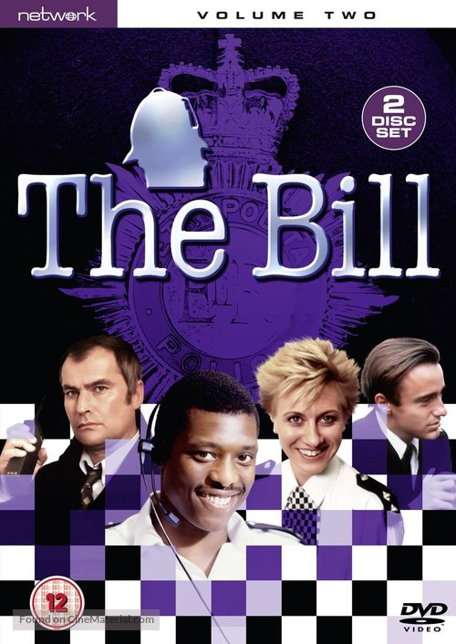 The Bill - British DVD movie cover