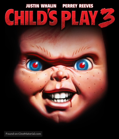 Child's Play 3 - Blu-Ray movie cover