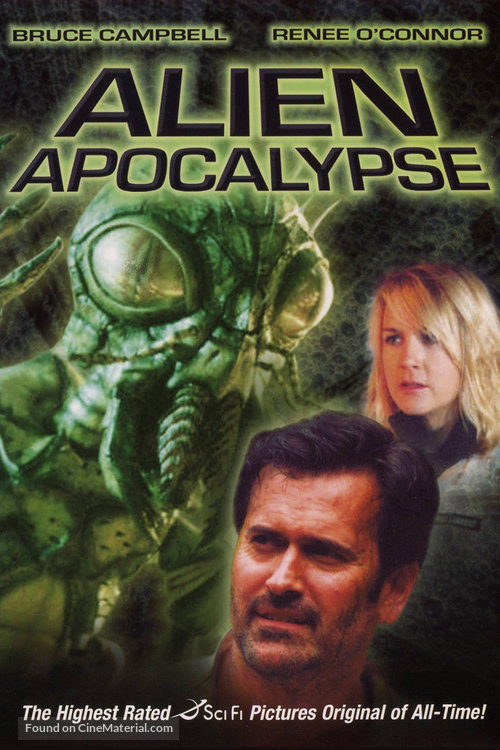 Alien Apocalypse - DVD movie cover