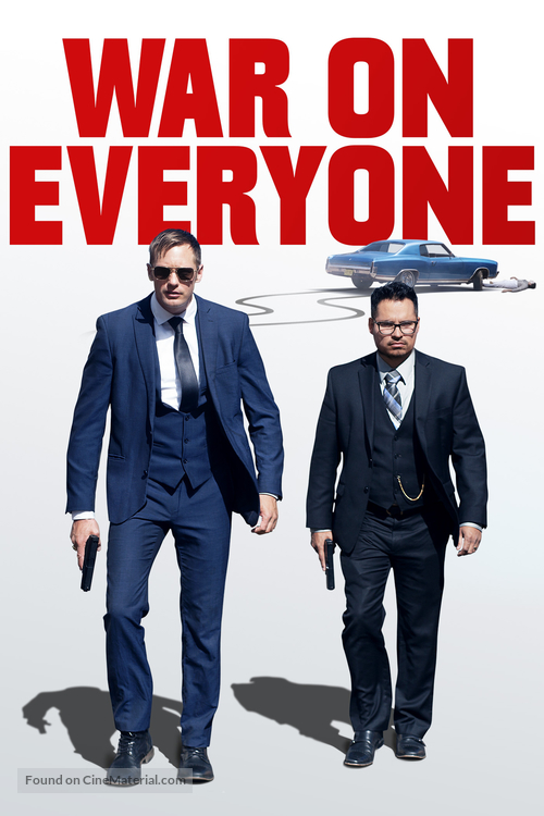War on Everyone - Movie Cover
