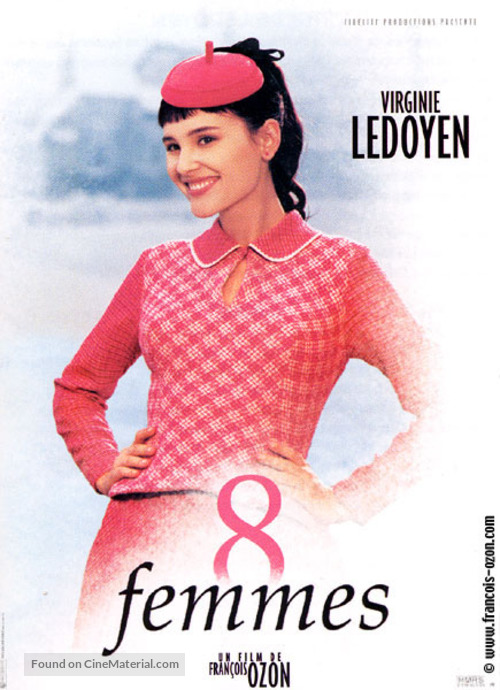 8 femmes - French Movie Poster