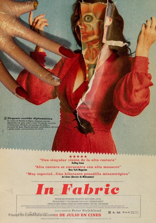 In Fabric - Spanish Movie Poster