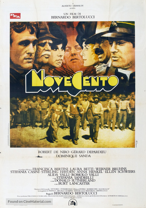 Novecento - Italian Movie Poster