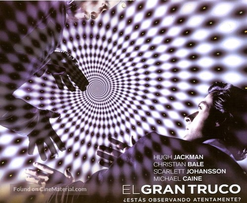The Prestige - Argentinian Movie Poster