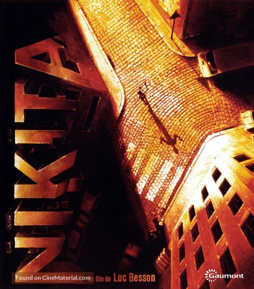 Nikita - French Blu-Ray movie cover
