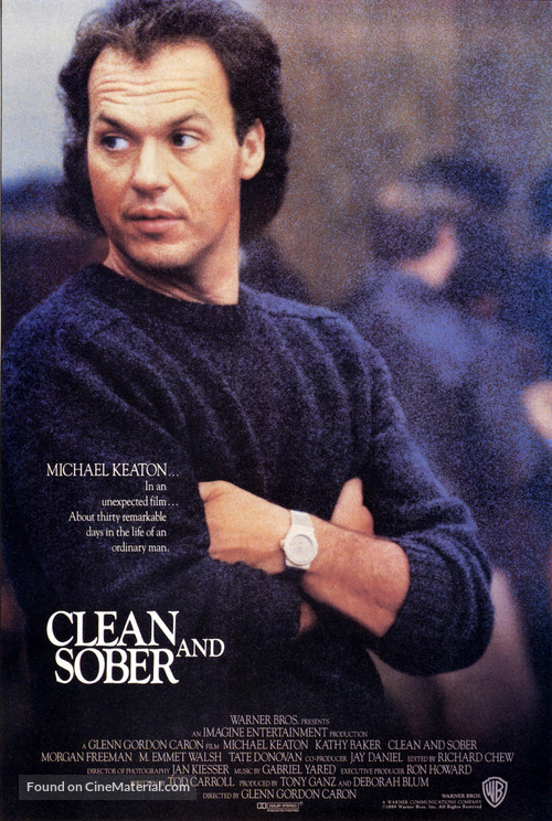 Clean and Sober - Movie Poster