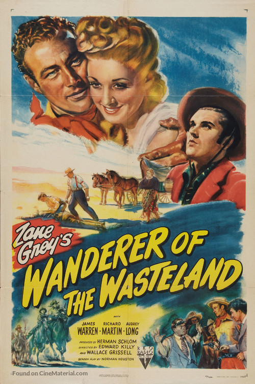 Wanderer of the Wasteland - Movie Poster