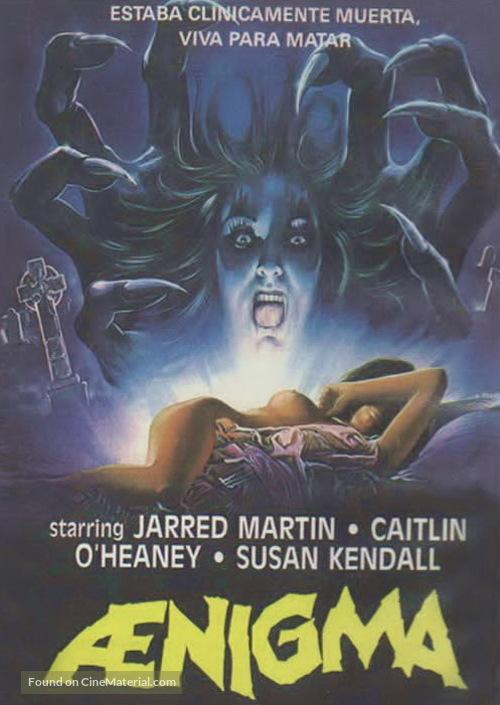 Aenigma - Spanish DVD movie cover