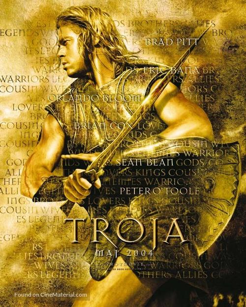Troy - Polish Movie Poster
