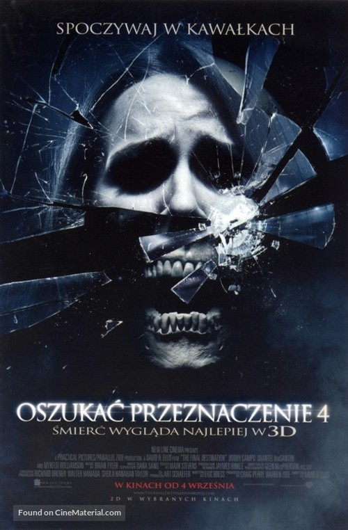 The Final Destination - Polish Movie Poster