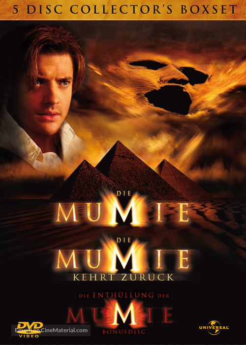 The Mummy Returns 2001 German Movie Cover