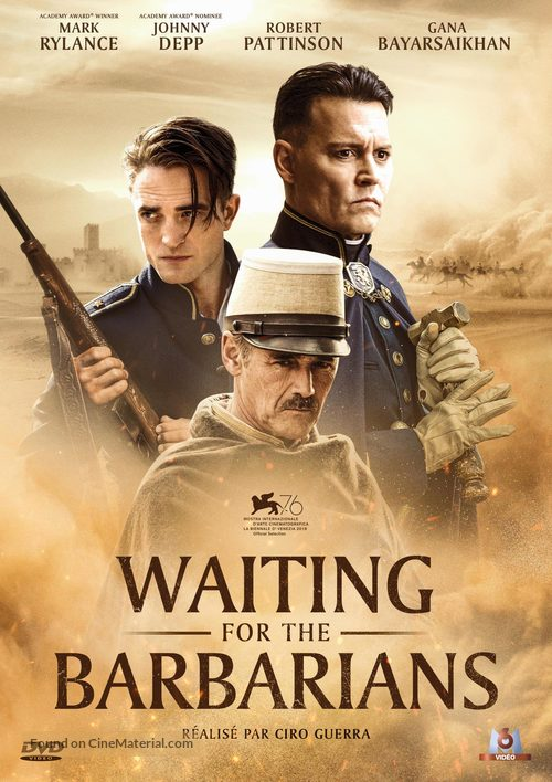 Waiting for the Barbarians - French DVD movie cover