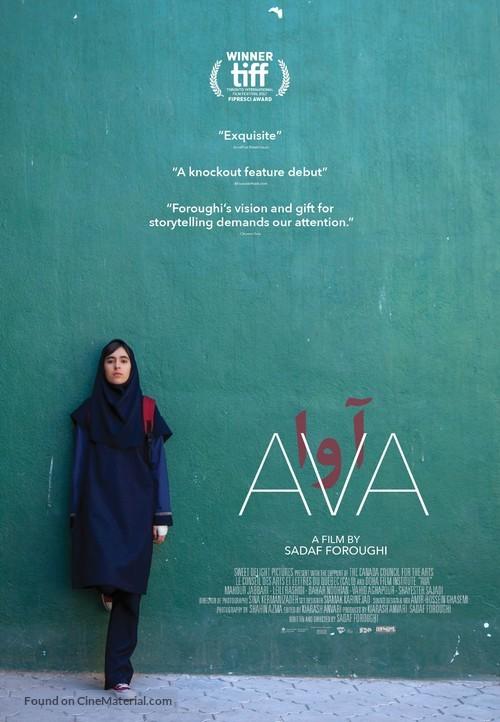 Ava - Canadian Movie Poster