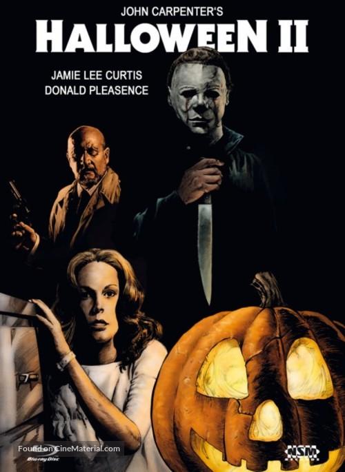 Halloween II - Austrian Blu-Ray movie cover
