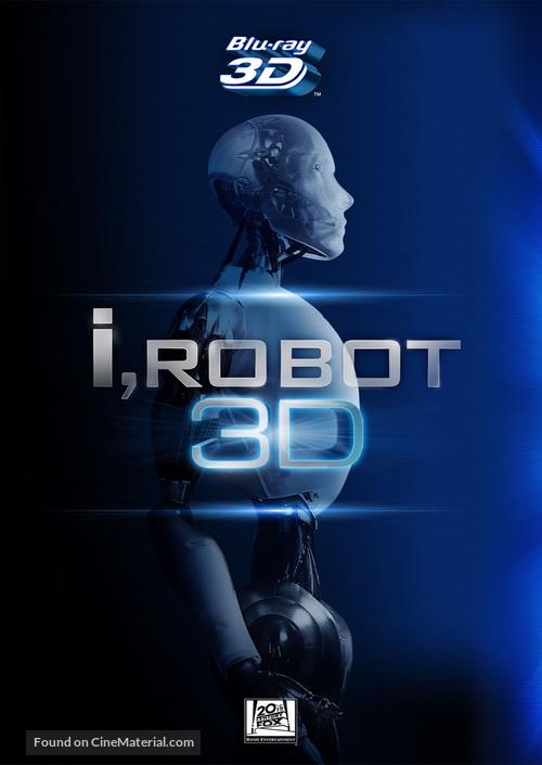 I, Robot - Blu-Ray movie cover