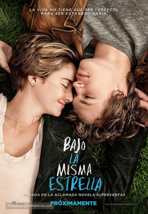 The Fault in Our Stars - Spanish Movie Poster