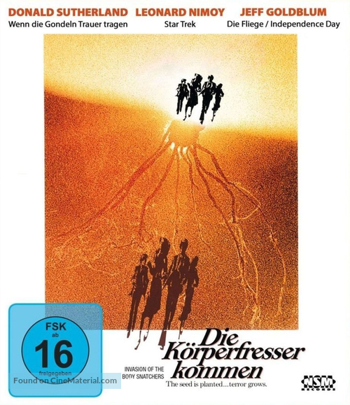 Invasion of the Body Snatchers - German Movie Cover