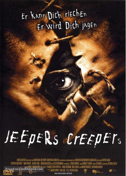 Jeepers Creepers - German Movie Cover
