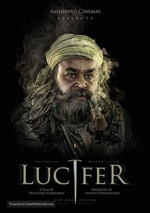 Lucifer - Indian Movie Poster