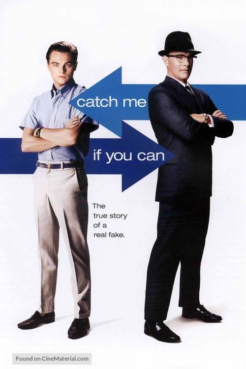 Catch Me If You Can - DVD movie cover