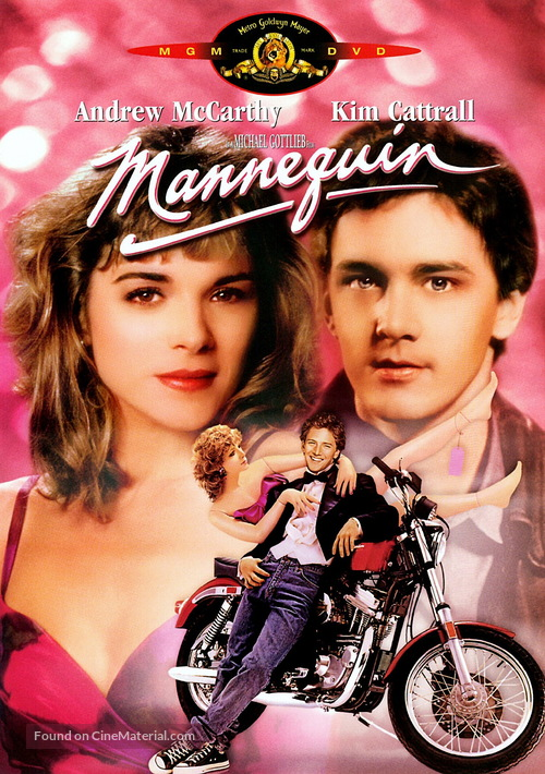 Mannequin - DVD movie cover