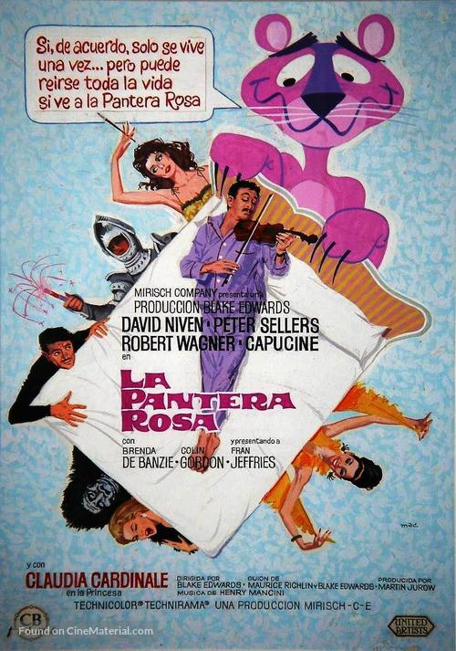 The Pink Panther - Spanish Movie Poster