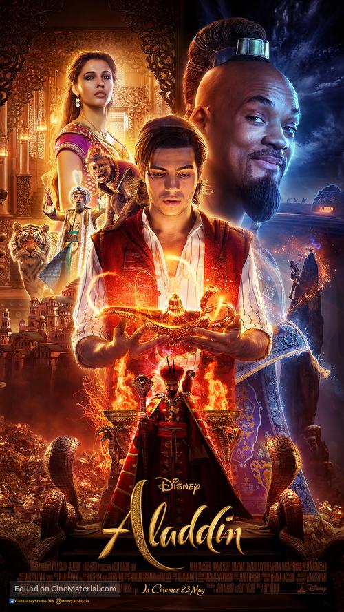 Aladdin - Malaysian Movie Poster