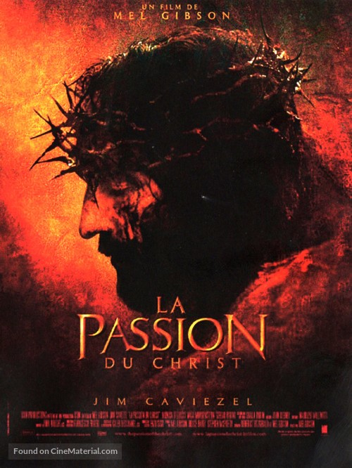 The Passion of the Christ - French Movie Poster