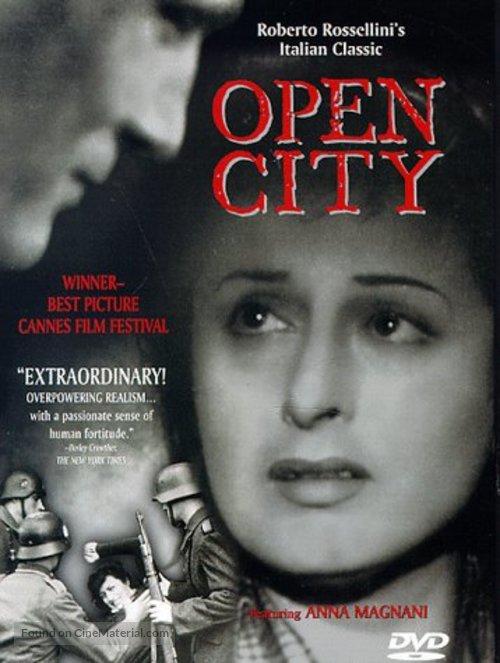 Roma, città aperta - DVD cover