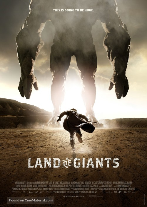 Land of Giants - German Movie Poster