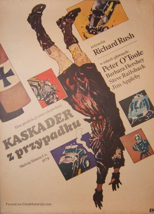 The Stunt Man - Polish Movie Poster