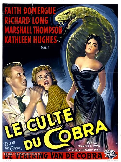 Cult of the Cobra - Belgian Movie Poster
