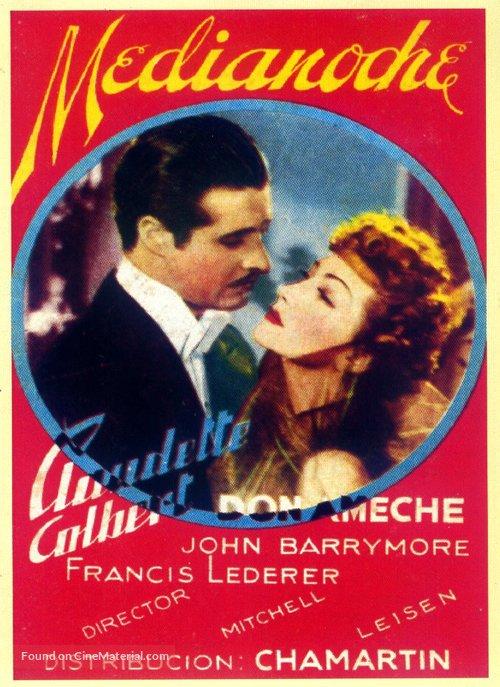 Midnight - Spanish Movie Poster