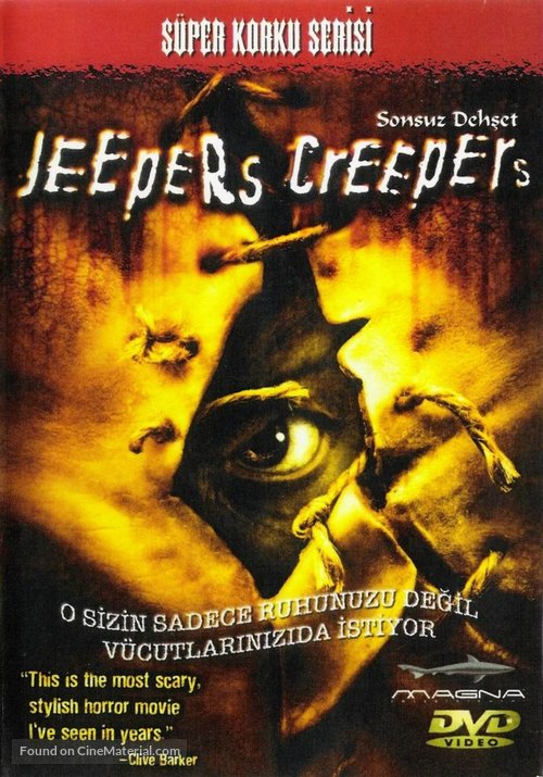 Jeepers Creepers - Turkish Movie Cover