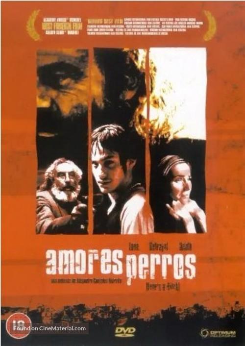 Amores Perros - British DVD movie cover