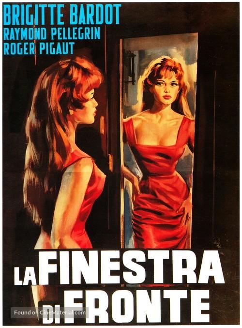 La lumière d'en face - Italian Movie Poster