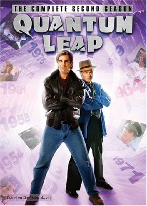 """""""Quantum Leap"""" - DVD movie cover"""
