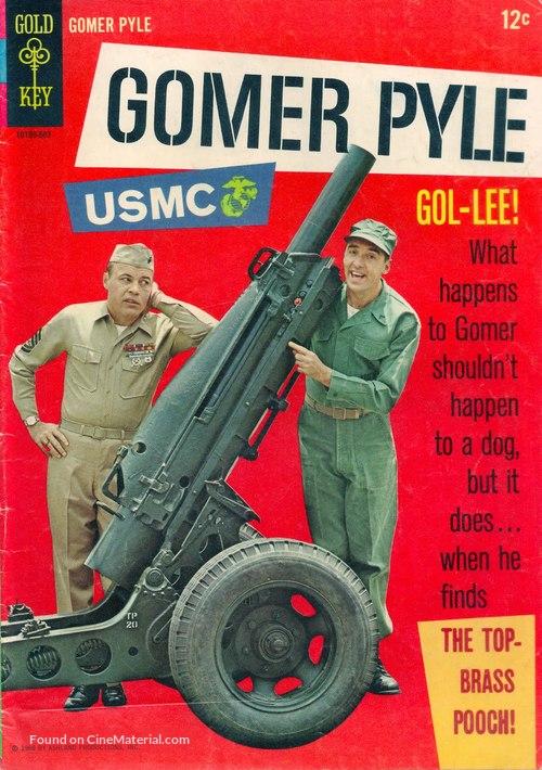 """Gomer Pyle, U.S.M.C."" - DVD movie cover"