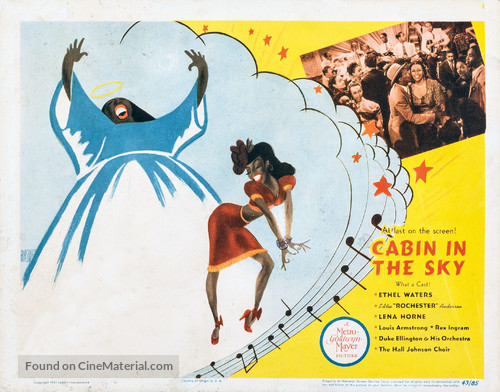 Cabin in the Sky - Movie Poster