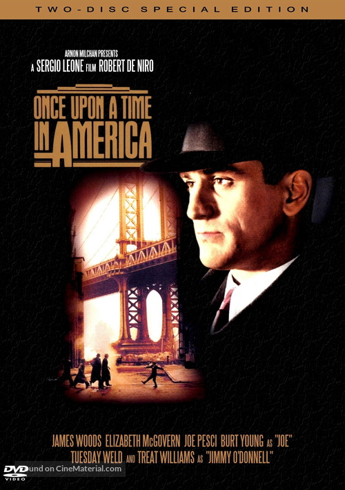 Once Upon a Time in America - DVD movie cover