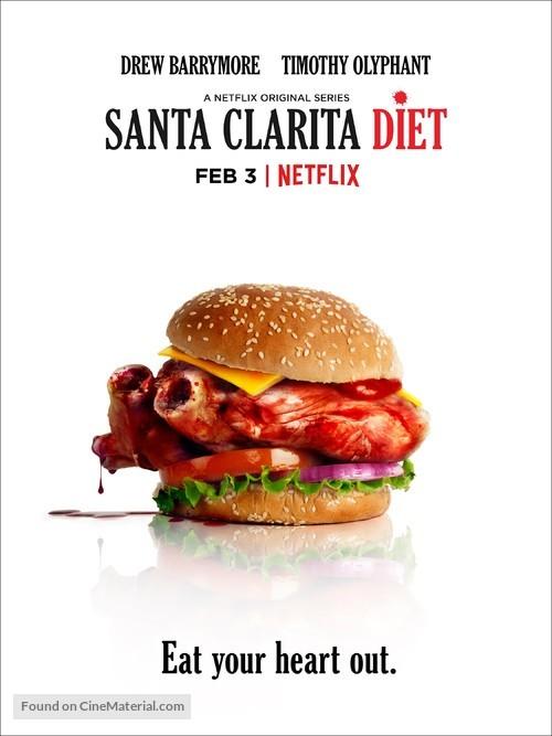 """""""Santa Clarita Diet"""" - Movie Poster"""