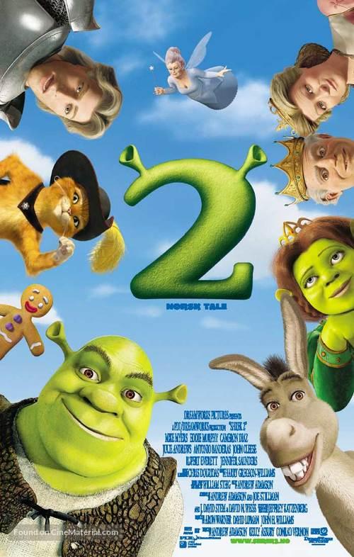 Shrek 2 - Norwegian Movie Poster
